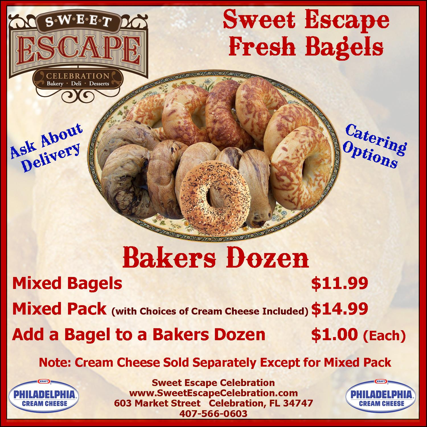 The Bagels - Bakers Dozen